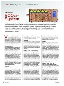 Friedenstein 500er-System