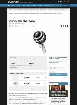 Motiv MV5 Black