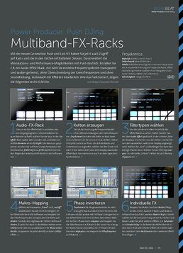Push DJing - Multiband-FX-Racks