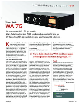 Warm Audio WA 76