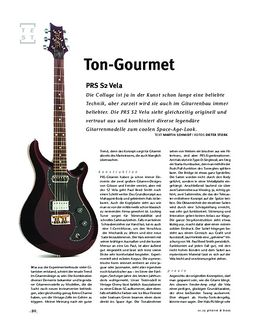 PRS S2 Vela, E-Gitarre