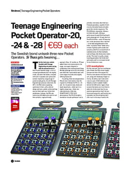Teenage Engineering Pocket Operator-20, -24 & -28