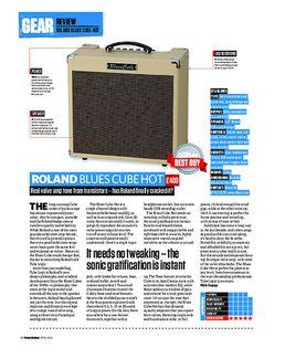 Blues Cube Hot VB