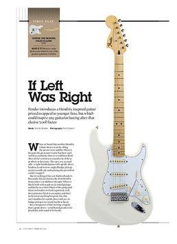 Jimi Hendrix Strat OWH