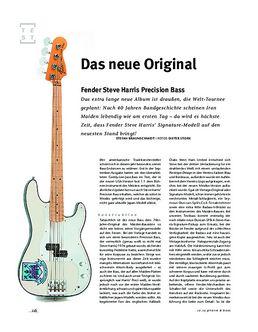 Fender Steve Harris