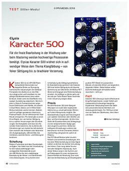 Elysia Karacter 500