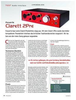 Clarett 2Pre