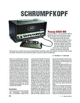 Peavey 6505 MH, Gitarrenverstärker