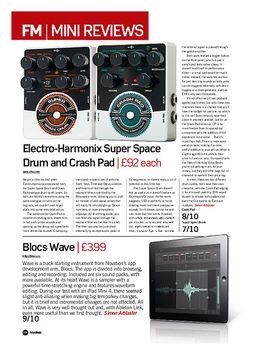 Electro-Harmonix Crash Pad & Super Space Drum