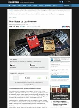 Two Notes Le Lead