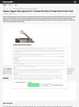 Squier Jaguar Bass Special SS / Fender Rumble 15 Amp Pack Series