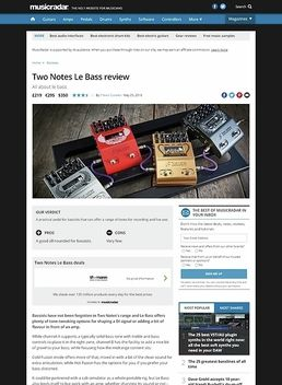 Two Notes Le Bass