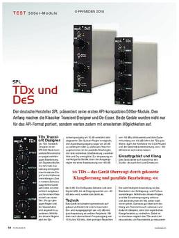 SPL TDx und DeS