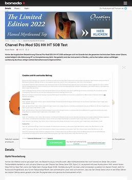 Charvel Pro Mod SD1 HH HT SOB
