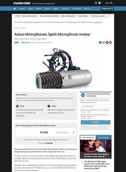 Aston Microphones Spirit Microphone