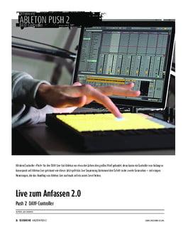 Ableton Push 2 - DAW-Controller