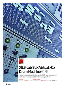 XIlS-Lab StiX Virtual x0x Drum Machine