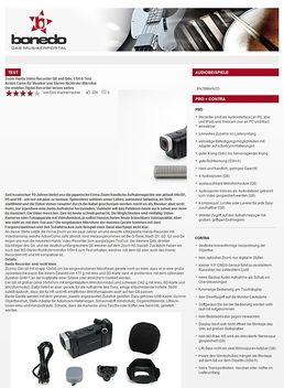 Zoom Handy Video Recorder Q8 und Q4n, SSH-6