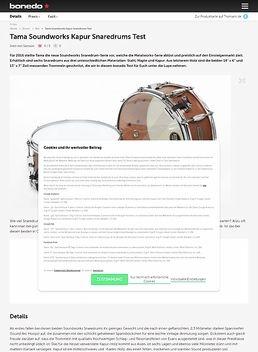"""14"""" Soundworks Kapur Snare"""