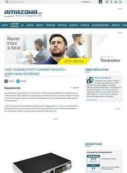 Test: iConnectivity iConnectAudio2+, Audio-/MIDI-Interface