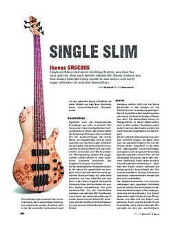 Ibanez SRSC805, E-Bass