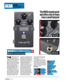 MXR Reverb M300