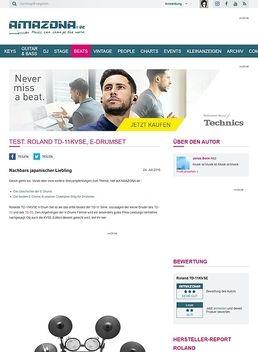 Test: Roland TD-11KVSE, E-Drumset