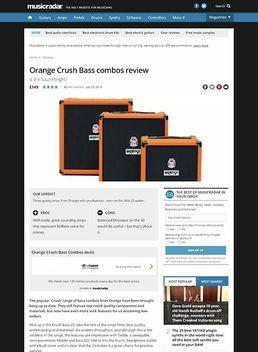 Crush Bass 50 Black