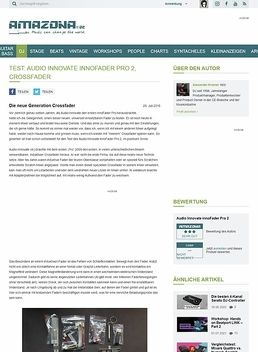 Test: Audio Innovate innoFader Pro 2, Crossfader