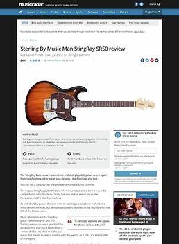 Sterling By Music Man StingRay SR50