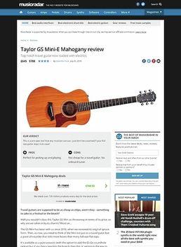 Taylor GS Mini-E Mahogany
