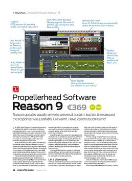 Propellerhead Software Reason 9
