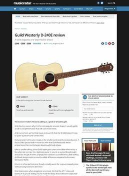Guild Westerly D-240E