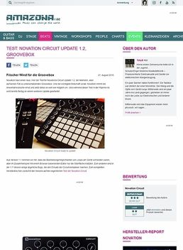 Test: Novation Circuit Update 1.2, Groovebox