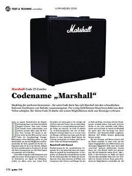 Marshall Code 25 Combo