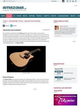 Test: Takamine P7DC, Akustikgitarre