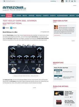 Test: Keeley Dark Side, Effektpedal für Gitarre