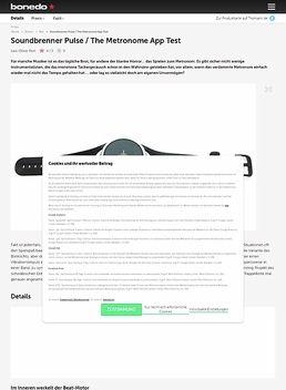 Soundbrenner Pulse / The Metronome App