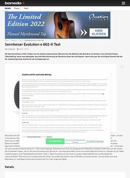 Sennheiser Evolution e 602-II