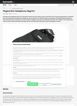 Magma Riot Headphone-Bag Pro