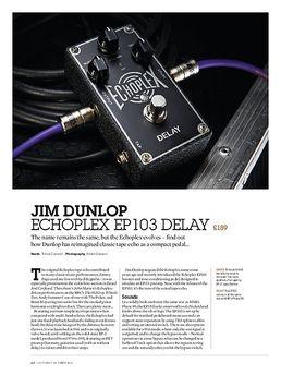 Jim Dunlop Echoplex EP103 Delay