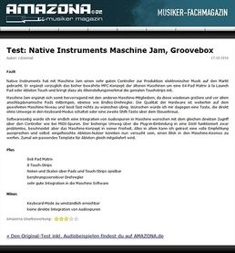 Test: Native Instruments Maschine Jam, Groove Studio
