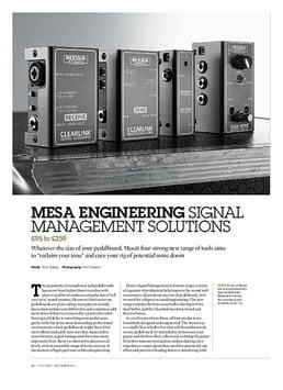 Mesa High-Wire Dual Buffer & Output Boost