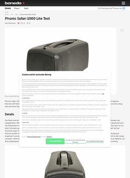 Phonic Safari 1000 Lite