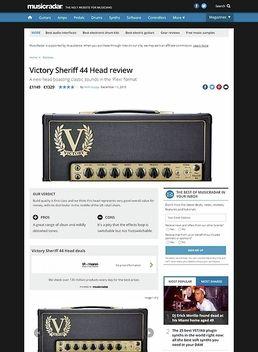 Victory Sheriff 44 Head