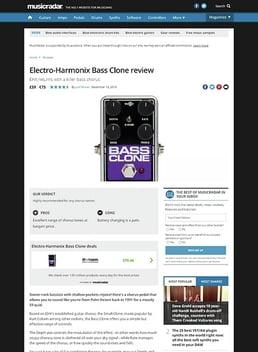 Electro-Harmonix Bass Clone