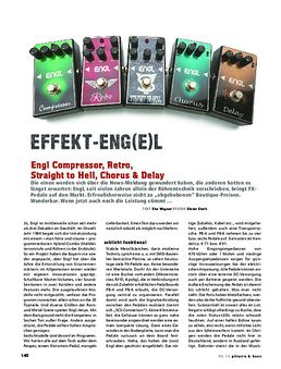 Engl Compressor, Retro, Straight to Hell, Chorus, Delay