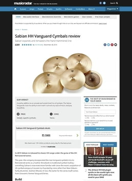 "14"" HH Vanguard Hi-Hat"