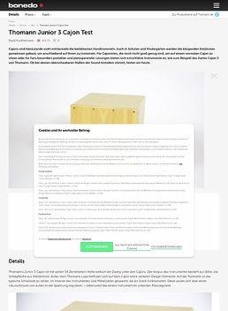 Thomann Junior 3 Cajon