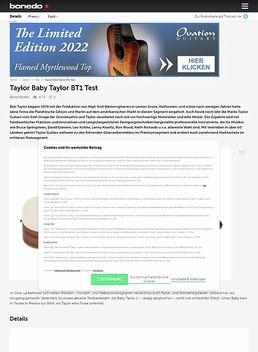 Taylor Baby Taylor BT1
